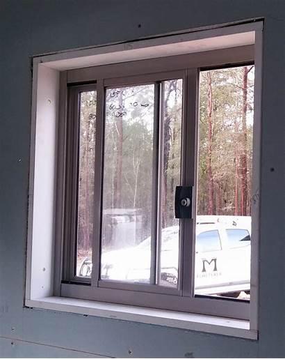 Window Windows Drywall Architraves Homes Install Around
