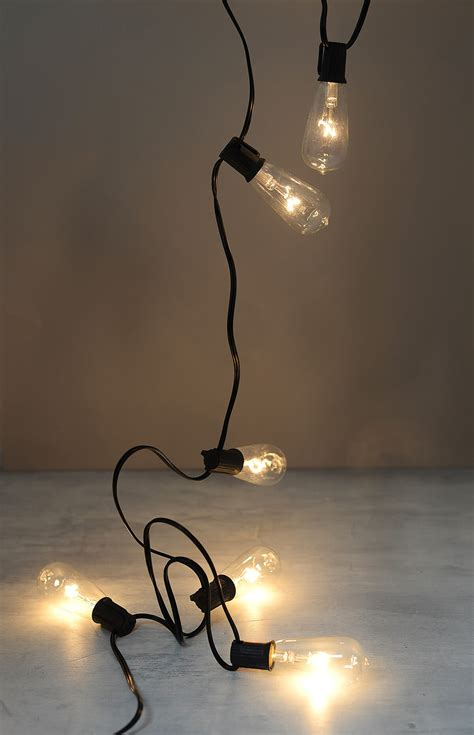edison bulb string lights string lights with edison bulb lights warm white 9ft
