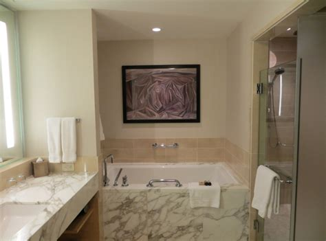 hotel in seattle with tub in room review four seasons seattle