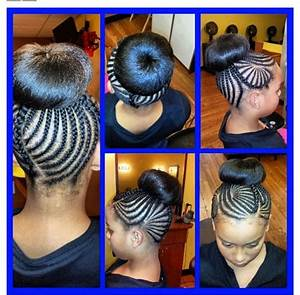 Formal hairstyles for Little Girl Braid Hairstyles With Weave Best images about hair styles on