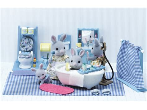 master bathroom set calico critters