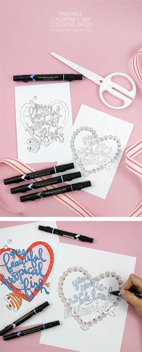 Cute Valentine's Day Coloring Pages