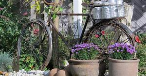 Wanddeko Für Garten : deko ideen shabby chic f r den garten mein sch ner garten ~ Watch28wear.com Haus und Dekorationen