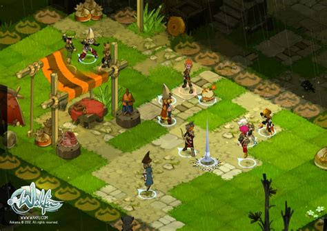 Wakfu Is A Grid Based Mmorpg Which Every Anime Fan Would To Installed It Really An Interesting Free Play Strategy Rpg That Ubuntu S New Mmorpg Wakfu Out Now