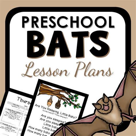 bat theme preschool classroom lesson plans preschool 224   PT Bats Lesson Plans Cover