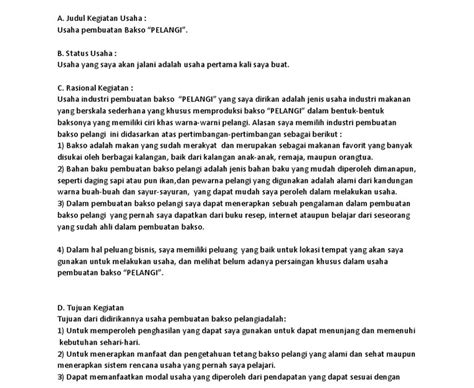 Contoh proposal rencana usaha keripik talas. Contoh Proposal Kewirausahaan Kripik Pisang - Perusahaan ...