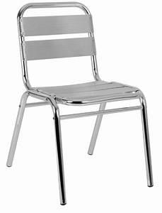 Chaise Terrasse Restaurant : chaise de terrasse aluminium cra 42 one mobilier ~ Teatrodelosmanantiales.com Idées de Décoration