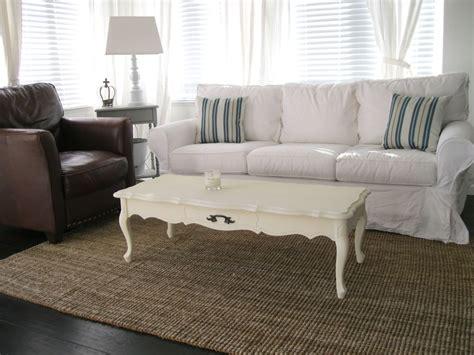 white slip covered sofa white slipcovered sofa for nice living room homesfeed
