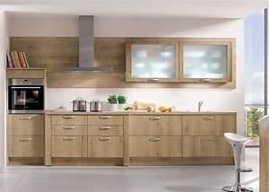 Cuisine Bois Clair : modele de cuisine bois couleur de cuisine moderne 2016 ~ Melissatoandfro.com Idées de Décoration