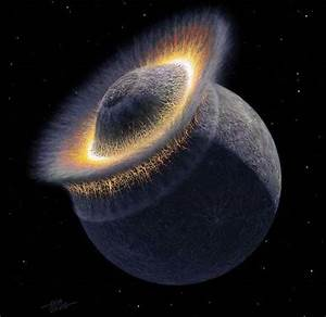 Moon was Formed of Earth Fragments After Another Planet ...
