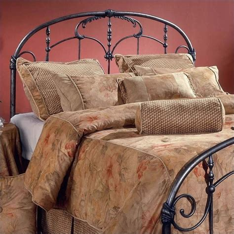 Brass Headboards For King Size Beds by Hillsdale Jacqueline King Size Metal Spindle Headboard In