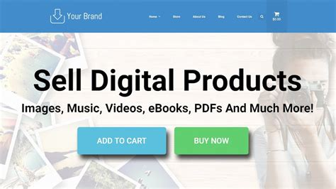 Make A Wordpress Website To Sell Digital Downloads And