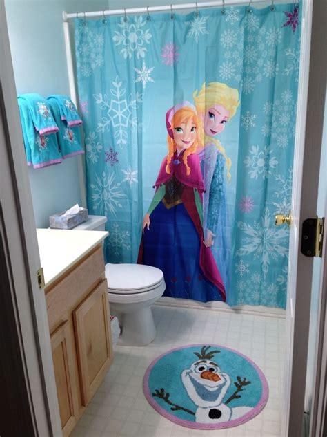 frozen bathroom decor  target girls bathroom ideas