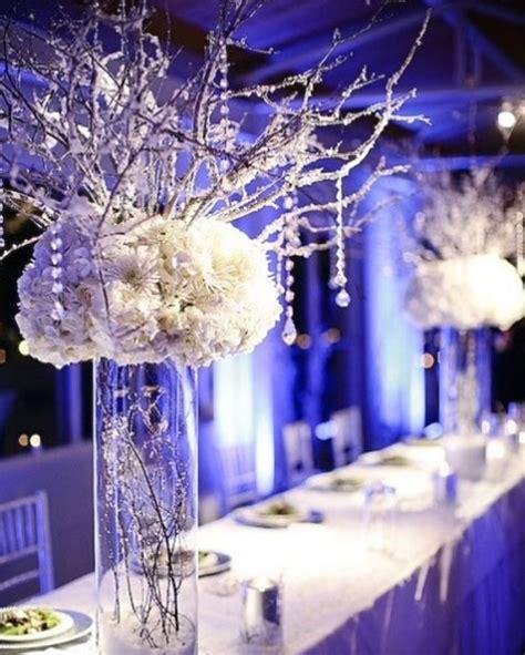 winter wedding centerpieces cheap stunning winter wedding centerpieces melindasweddings
