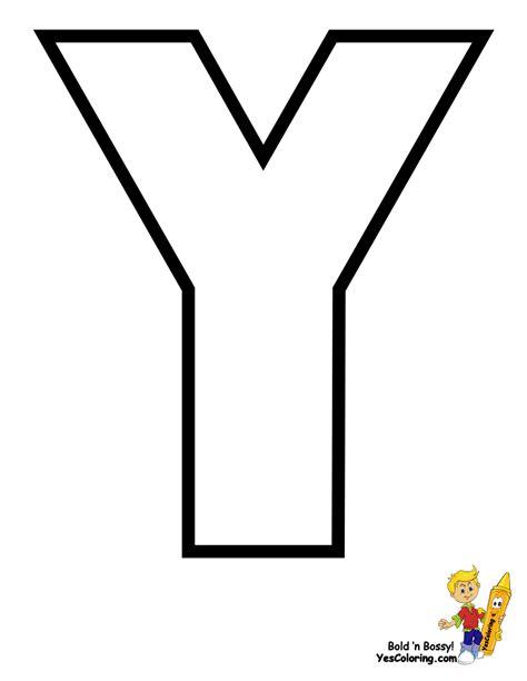 Alphabet Letter Y Coloring Pages