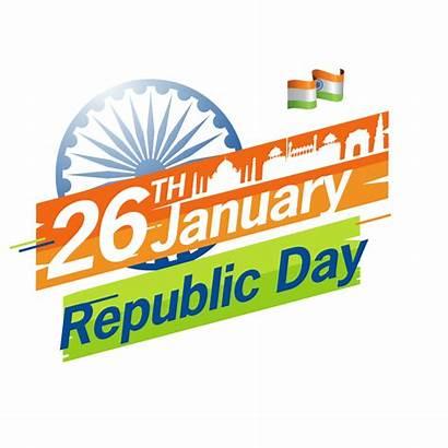 Republic January 26 Transparent Stickers India Whatsapp