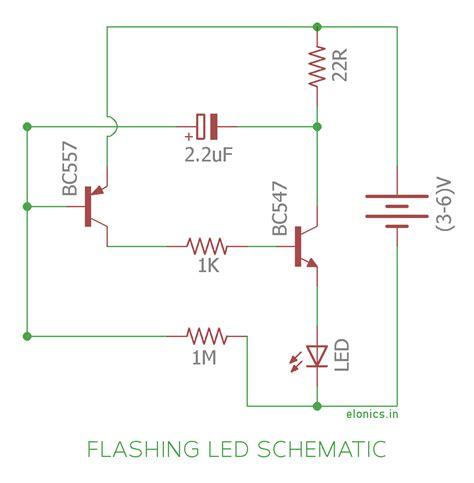 blinking led circuit diagram 28 wiring diagram images
