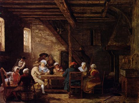 cottage style homes file defrance pub interior2 18th c jpg wikimedia commons