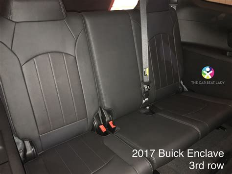 car seat lady buick enclave
