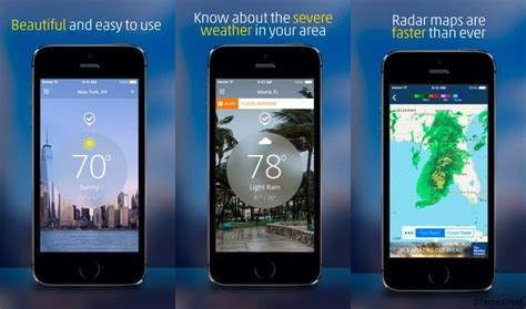 iphone weather app best weather app for iphone 2017 techindroid