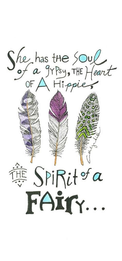 Free Spirit Quotes For Tattoos