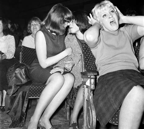 Lesbian Couple At A Beatles Concert October From R Actuallesbians Oldschoolcool