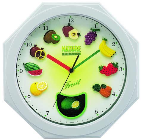pendule cuisine moderne horloge tofern horloge murale