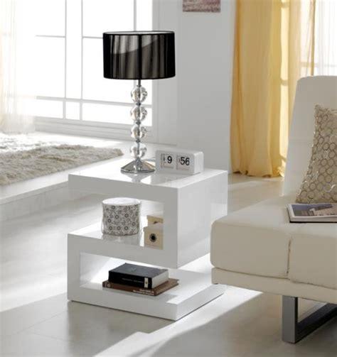High Gloss Living Room Furniture White