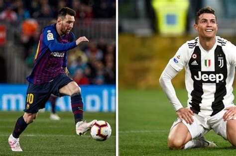 Barcelona Vs Juventus Messi Vs Ronaldo : 'We Are Glad You ...
