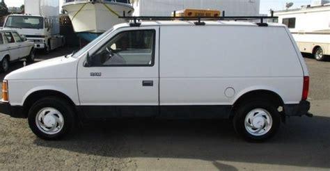 rare worker edition  dodge mini ram van