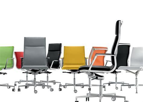 bureau cuir design fauteuil design de bureau pied fixe nulite rembourré