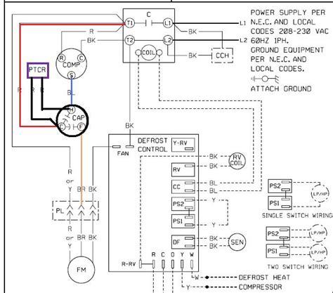 Rheem Ac Capacitor Wiring Diagram by Dual Capacitor With Start Wiring Schematic