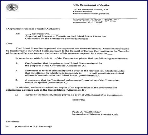 federal probation cover letter sle letter to judge for early release of probation