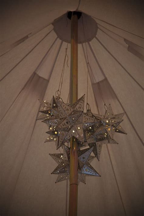 Bell Tent Chandelier by Mexican Lights Chandelier Bell Tent Interiors