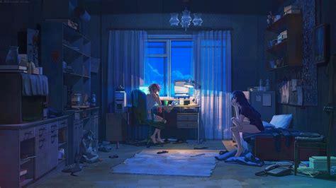 anime aesthetic desktop wallpapers