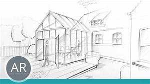 Haus Strichzeichnung Einfach : architektur skizzen ideen im handumdrehen visualisieren architektur zeichenkurse youtube ~ Watch28wear.com Haus und Dekorationen