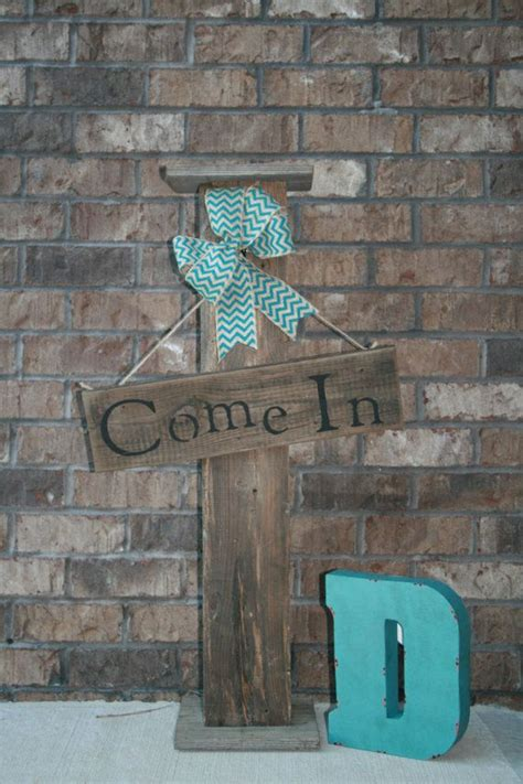 front porch decor  standing  sign