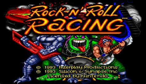 baixar discografias rock n roll racing super nintendo