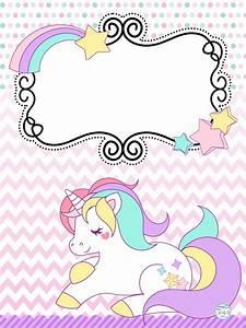 Bonitas portadas de unicornios Material Educativo