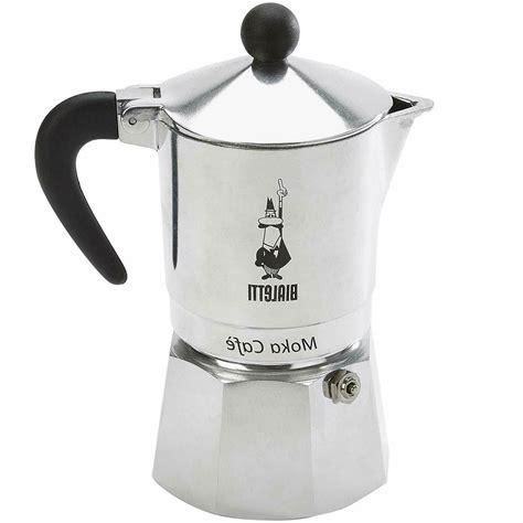 Bialetti moka express espresso maker. Bialetti Moka Express Aluminum Stovetop Espresso Maker, 3