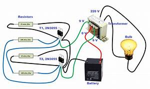 You Can Easily Make An Inverter At Home  To Understand How