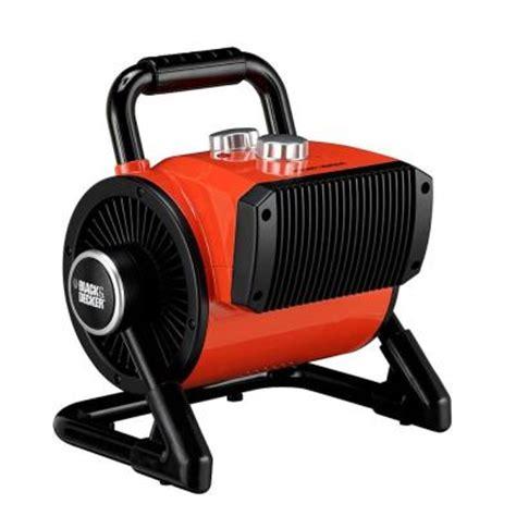 home depot heater fan black decker 1500 watt utility ceramic blow fan heater bdh