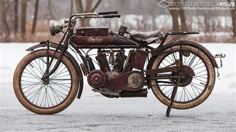 Four Rare Indian Motorcycles Up For Auction