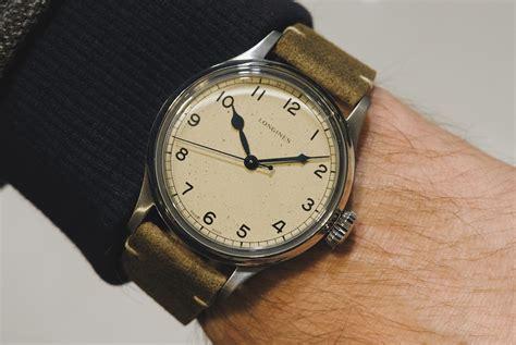 baselworld 2018 longines heritage military watch gear