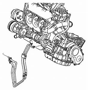 Dodge Grand Caravan Clip  Cooler Line  Power Steering Hose
