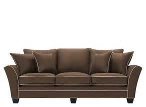 briarwood microfiber sofa sofas raymour and flanigan