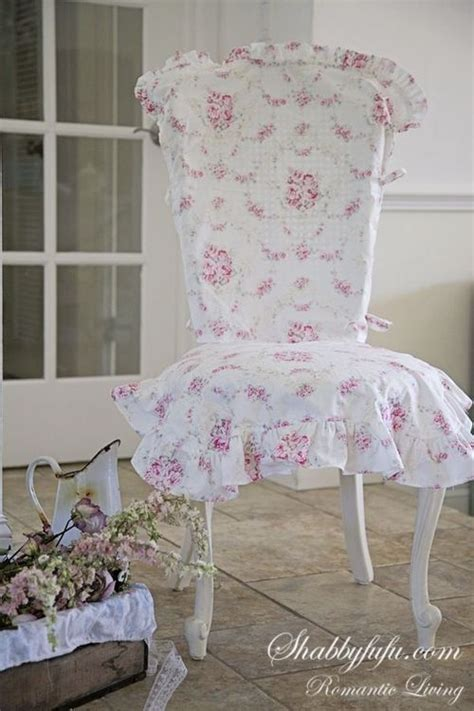 shabby chic dining chair slipcovers floral slip cover florals chair