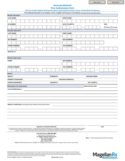 Molina Prior Authorization Request Form
