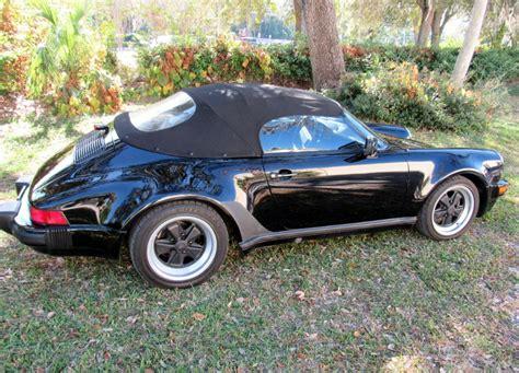 porsche speedster 2017 1989 porsche 911 speedster hollywood wheels auction shows