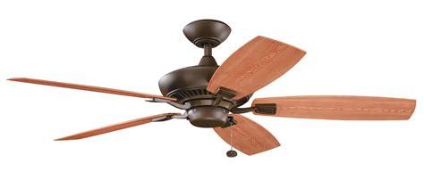 ceiling fan without light kit kichler 310192tzp canfield patio energy star ceiling fan